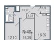 Продажа 2-к. квартиры в новостройке ,  Приморский р-н