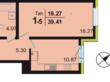 Продажа 1-комнатной квартиры, Средний В.О., д. 89, Василеостровский район